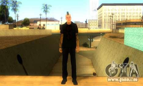 Punk (vwmycr) pour GTA San Andreas