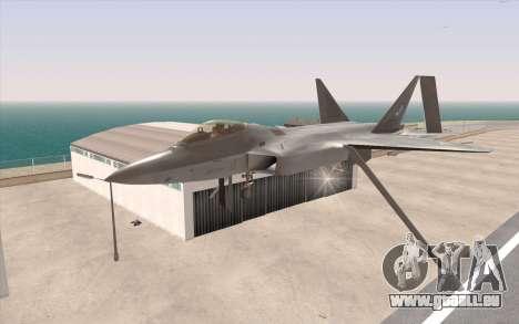 F-22 Raptor pour GTA San Andreas