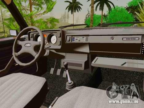 VAZ-2105 für GTA San Andreas Innenansicht