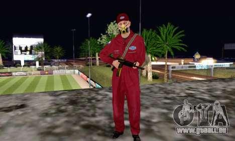 Bug Star Robbery pour GTA San Andreas deuxième écran