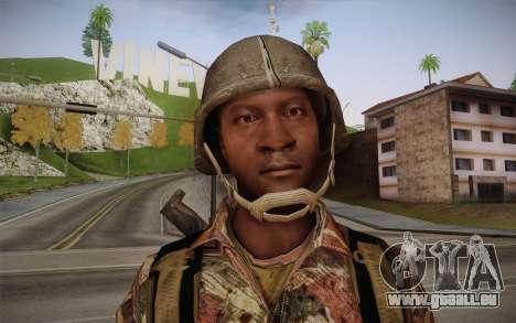 U.S. Soldier v3 pour GTA San Andreas troisième écran