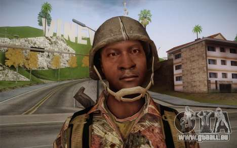 U.S. Soldier v3 für GTA San Andreas dritten Screenshot