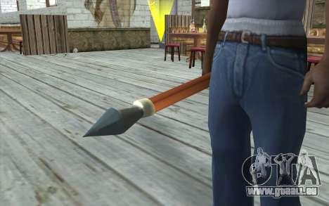 Speer für GTA San Andreas dritten Screenshot