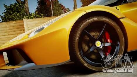Ferrari LaFerrari v1.2 für GTA 4 Seitenansicht