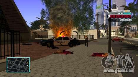 C-HUD Hast pour GTA San Andreas cinquième écran
