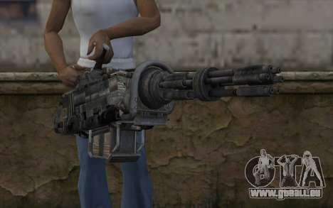 Minigun из Fallout für GTA San Andreas dritten Screenshot