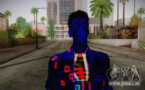 Zero VirusStyle Skin pour GTA San Andreas troisième écran
