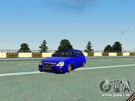 VAZ 2172 für GTA San Andreas obere Ansicht