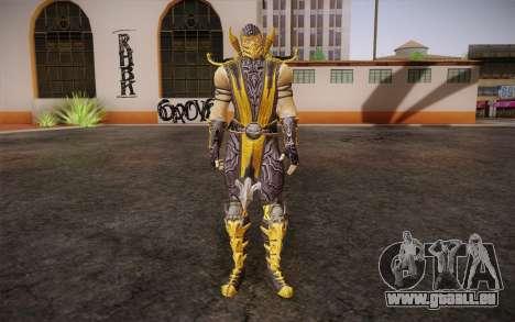 Scorpion из Mortal Kombat 9 pour GTA San Andreas