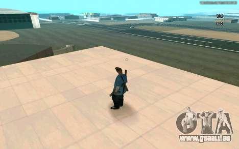 Éternelle de vue pour GTA San Andreas deuxième écran