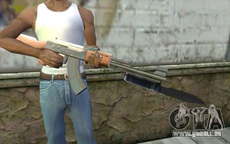 Mit einem Bajonett AK47 für GTA San Andreas dritten Screenshot