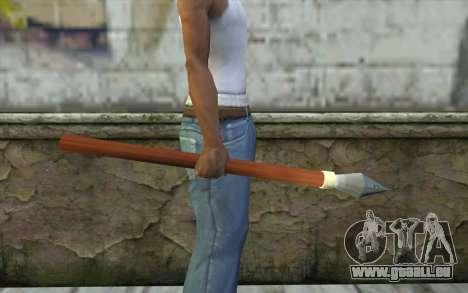 Speer für GTA San Andreas zweiten Screenshot