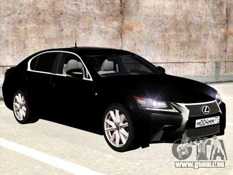 Lexus GS350F Sport für GTA San Andreas