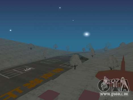 SinAkagi Snow Drift Strecke für GTA San Andreas
