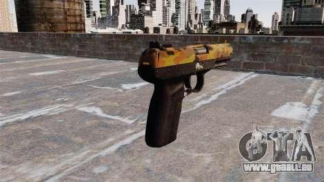 Pistolet FN Cinq sept de l'Automne pour GTA 4 secondes d'écran