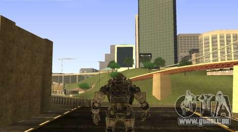 TitanFall Atlas pour GTA San Andreas deuxième écran