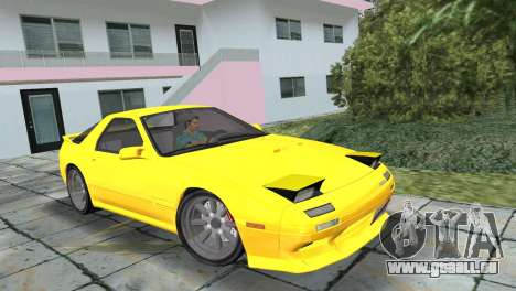 Mazda Savanna RX-7 III (FC3S) für GTA Vice City