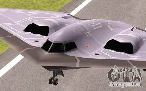 B-2 Spirit für GTA San Andreas rechten Ansicht