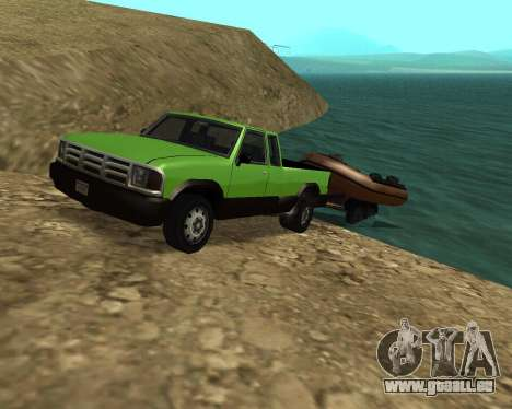 Nouveau Pick-Up pour GTA San Andreas salon