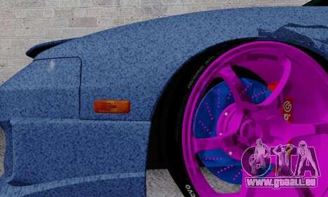 Nissan 240SX pour GTA San Andreas vue de dessous