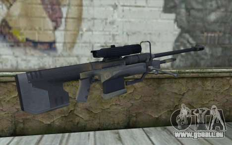 Sniper Rifle from Halo 3 für GTA San Andreas zweiten Screenshot