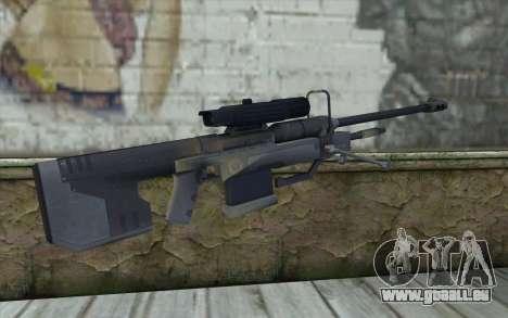 Sniper Rifle from Halo 3 pour GTA San Andreas deuxième écran