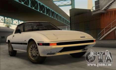 Mazda RX-7 GSL-SE 1985 IVF für GTA San Andreas
