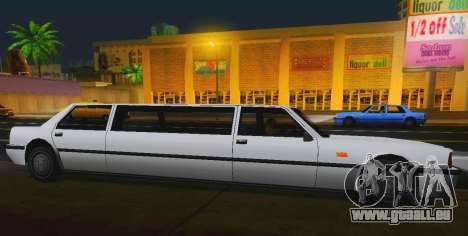 Vincent Limousine für GTA San Andreas linke Ansicht