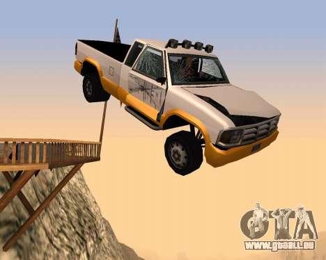 Nouveau Pick-Up pour GTA San Andreas vue de côté