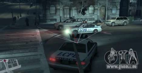 Watch Dogs Style MOD pour GTA 4 secondes d'écran