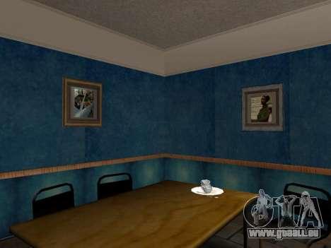 Das neue Interieur des Hauses CJ für GTA San Andreas her Screenshot