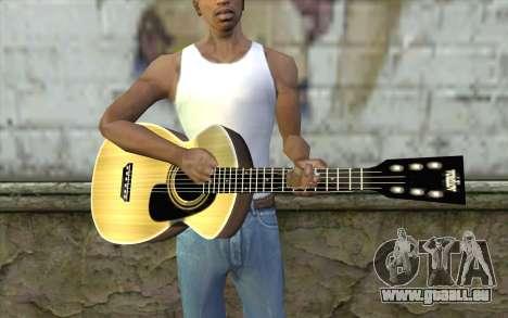 Acoustic Guitar für GTA San Andreas dritten Screenshot