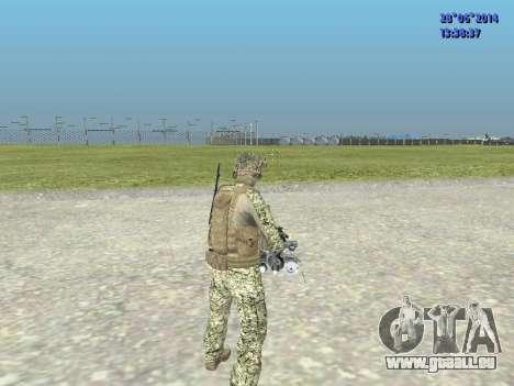 Alfa Antiterroriste A pour GTA San Andreas septième écran