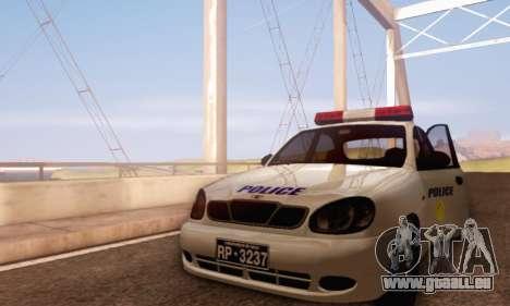 Daewoo Lanos Police pour GTA San Andreas