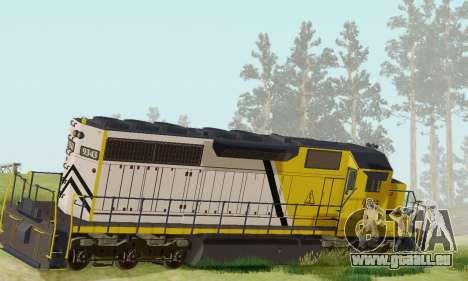 GTA V Trem 2 pour GTA San Andreas laissé vue