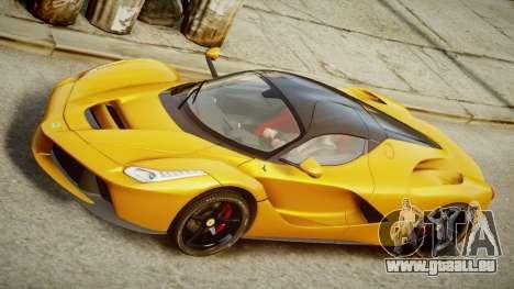 Ferrari LaFerrari v1.2 pour GTA 4 Vue arrière de la gauche