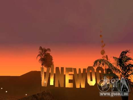 Beta Timecyc pour GTA San Andreas deuxième écran