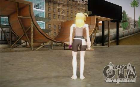 Lucy Heartfilia pour GTA San Andreas deuxième écran