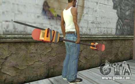 Paddlesaw pour GTA San Andreas troisième écran