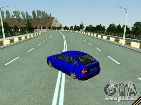 VAZ 2172 für GTA San Andreas zurück linke Ansicht