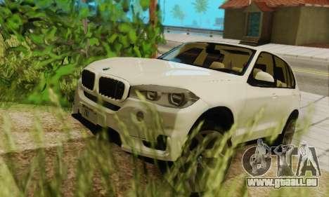 BMW X5 (F15) 2014 pour GTA San Andreas vue de côté
