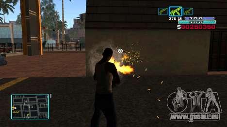 C-HUD Hast pour GTA San Andreas quatrième écran