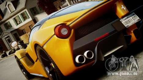 Ferrari LaFerrari v1.2 für GTA 4 linke Ansicht