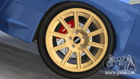 Subaru Impreza WRX STI 2005 pour une vue GTA Vice City de la droite