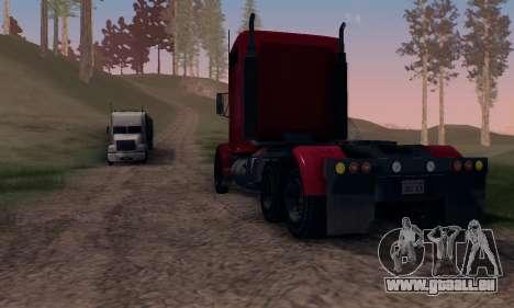 GTA V Packer pour GTA San Andreas vue arrière