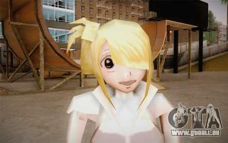 Lucy Heartfilia pour GTA San Andreas troisième écran