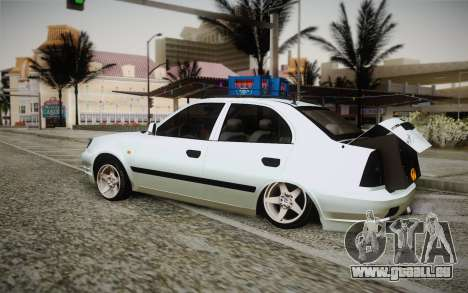 Hyundai Polis TR pour GTA San Andreas laissé vue