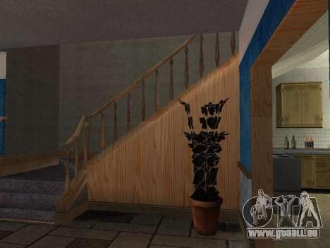 Das neue Interieur des Hauses CJ für GTA San Andreas zweiten Screenshot
