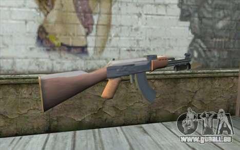 Mit einem Bajonett AK47 für GTA San Andreas zweiten Screenshot