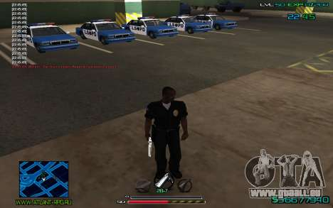 C-HUD by CONVERSION pour GTA San Andreas